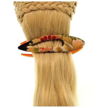 Annie Loto Sudios Jewelry Gold Arch Clip Medium Hair Accessory Style, 1.00 in. - 374A