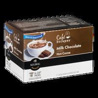 Cafe Escapes Milk Chocolate Hot Cocoas K-Cup - 12 CT