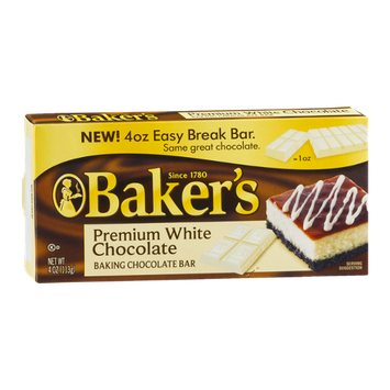 Baker's Premium White Chocolate Baking Bar