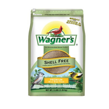 Wagner's Wildlife Food 5 lb. Shell Free Premium Wild Bird Food 12037