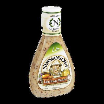 Newman's Own Lite Honey Mustard Dressing