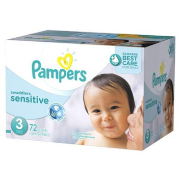 Pampers Swaddlers Sensitive Diapers Super Pack Size 3 (72 Count)