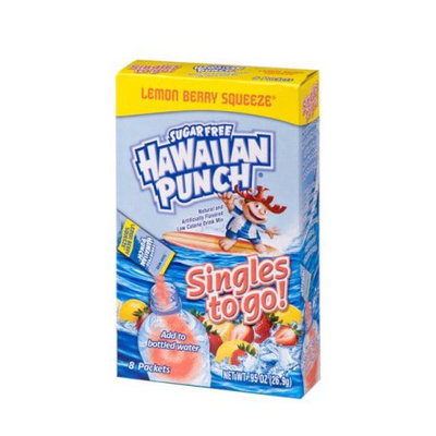Hawaiian Punch Lemon Berry Squeeze Singles To Go