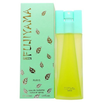 Women's Fujiyama Green by Succes De Paris Eau de Toilette Spray - 3.4