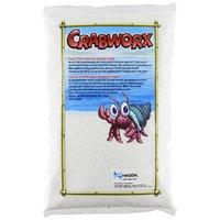Crabworx Extra Fine Crab Gravel, 4.4-Pound, White