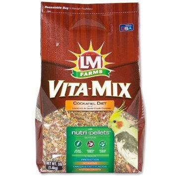 Hartz LM Farms Vita-Mix Cockatiel Diet, 3-Pound