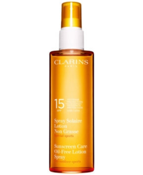 Clarins Sunscreen Oil-Free Lotion Spray SPF 15, 5.2 fl. oz