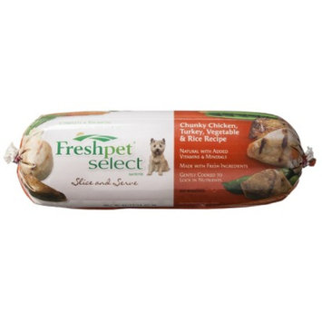 Target Home Freshpet Select Slice and Serve Dog Food - Chunky Chicken, Turkey,
