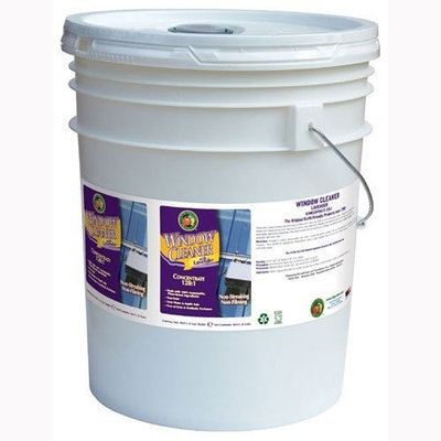 EARTH FRIENDLY PRODUCTS PL9963/05 Glass Cleaner,5 gal, Lavender, Clear