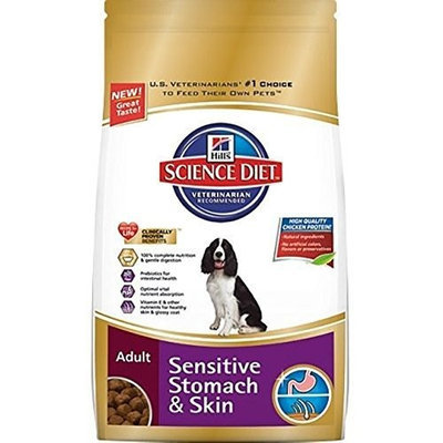 Hill's Science Diet  Hill's Science Diet Adult Sensitive Stomach & Skin Dry Dog Food