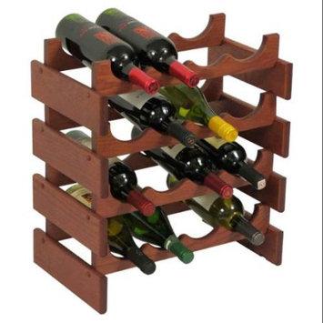 Wooden Mallet WR44MH 16 Bottle Dakota Wine Rack