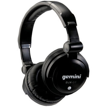 Gemini DJ DJX-07 Professional Dynamic Monitoring Headphones