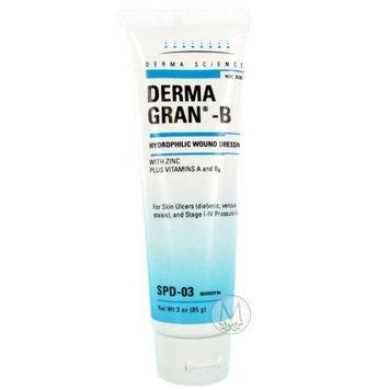 Derma Sciences Dermagran-B Hydrophilic Wound Dressings - Gel - 3 oz tube