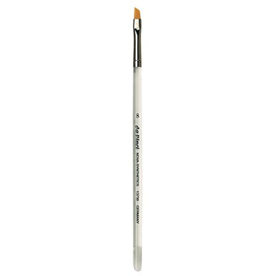 Da Vinci Series 13730 Nail Brush Slant Edge Extra Fine Synthetic with Plexiglass Handle