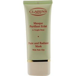 Clarins Pure and Radiant Cleanser Mask with Pink Clay for Unisex