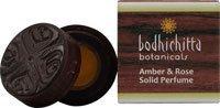 Bodhichitta Botanicals Amber and Rose Perfume