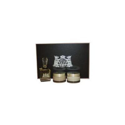 Juicy Couture By Juicy Couture For Women. Gift Set ( Eau De Parfum Spray 1.7 Oz + Caviar Bath Soak 2.7 Oz + Royal Body Cream 3.4 Oz )