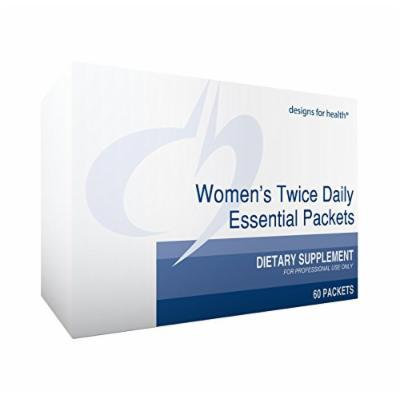 Designs for Health Women's Twice Daily Essential Packets, 60 Count