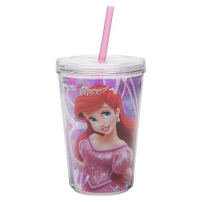 Zak Designs Disney Princess Double Walled Insulated Tumbler Set of 2
