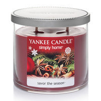 Yankee Candle simply home Savor the Season 10-oz. Jar Candle, Red