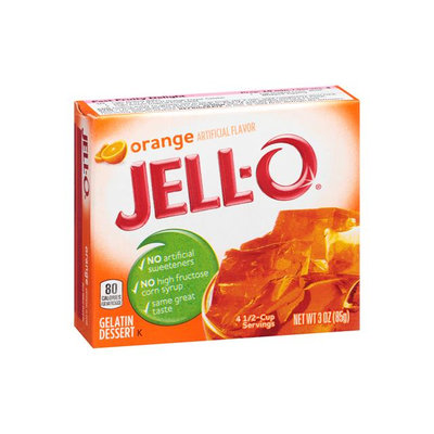 JELL-O Orange Flavor Gelatin Dessert