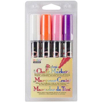 Alvin Marvy Uchida Bistro Chalk Markers, 4/pkg