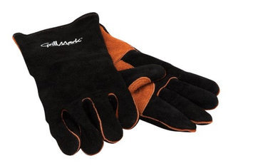 Grill Mark Leather Gloves For Grilling (00528)