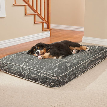 Doctors Foster & Smith Ultimate Classic Pet Bed with Scent-Lok Odor Control (Grey)