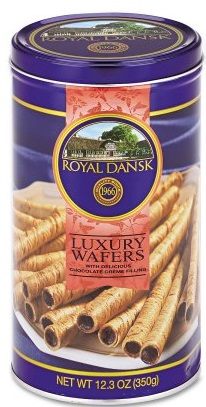 Royal Dansk Luxury Wafers Chocolate