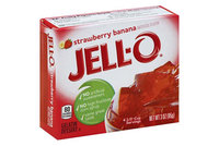 JELL-O Gelatin Dessert Strawberry Banana Sugar Free