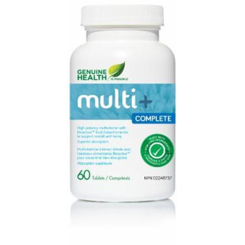 Genuine Health: multi+ complete (60Tablets)