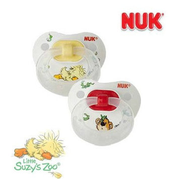 Gerber NUK 2 Pack Silicone BPA Free Pacifiers, Size 2 - Little Suzy's Zoo