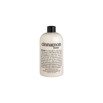 philosophy Cinnamon Buns Shampoo, Shower Gel & Bubble Bath 16 oz