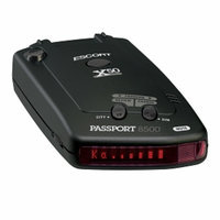 Escort Passport 8500 X50 Black Red Display Radar Detector 80-000085-14