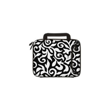 Designer Sleeves 10DSH-BWF 10 inch Tablet & Ipad - Black & White Fashion