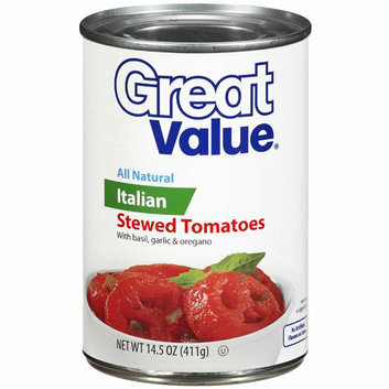 Great Value : Italian Stewed Tomatoes