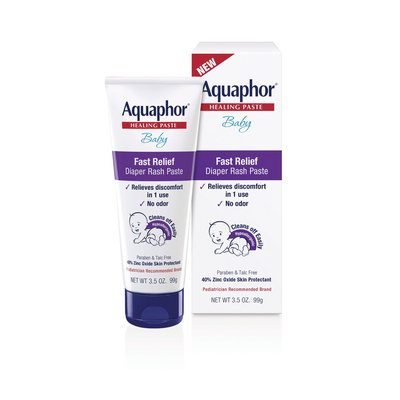 Aquaphor® Baby Fast Relief Diaper Rash Paste