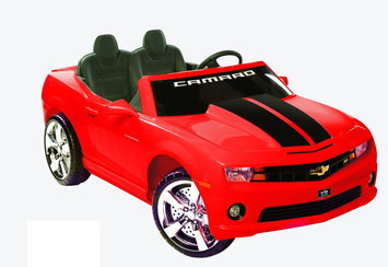 tional Products Ltd. National Products Limited Red Racing Camaro In Red 12V
