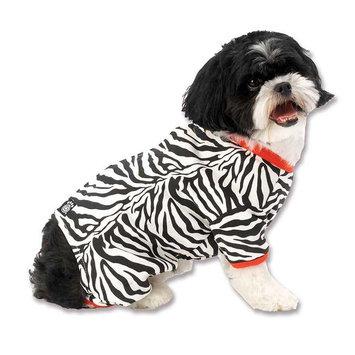 Pet Rageous Designs Zebra Buzz Dog Pajamas X-Small