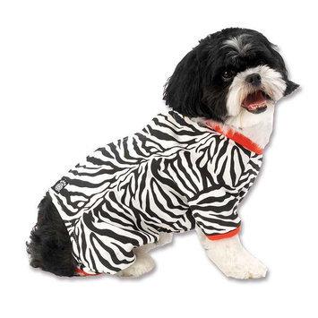 Pet Rageous Designs Zebra Buzz Dog Pajamas Medium