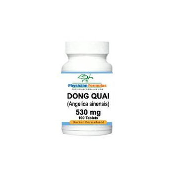Dong Quai (angelica sinensis) Root Herb Supplement 530 Mg, 100 Tablets - Endorsed by Dr. Ray Sahelian, M.D. *FREE SHIPPING*