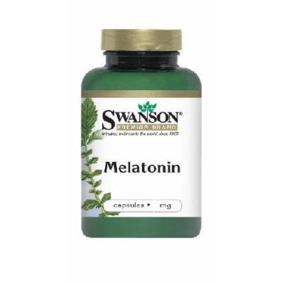 Swanson Melatonin 3 mg - 60 capsules