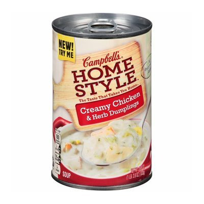 Campbell's Home Style Creamy Chicken & Herb Dumplings Soup