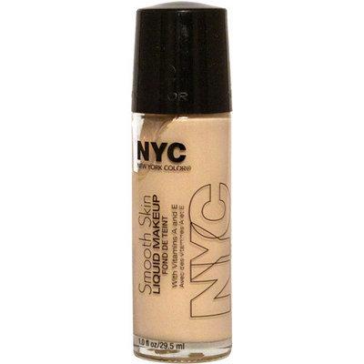 N.Y.C. New York Color NYC New York Color Smooth Skin Liquid Makeup, Ivory, 1.0 fl oz