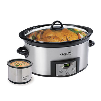 Crock-pot Crock-Pot 6-qt. Slow Cooker with Little Dipper