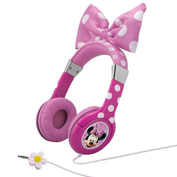 Kiddesigns, Inc Disney Minnie Mouse Bow-Tique Headphones