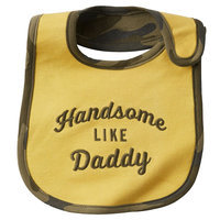 Carter's Graphic Bib - Baby Boy (Yellow)