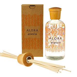 Alora Ambiance Reed Diffuser and Sticks, Arancia, 16 fl oz