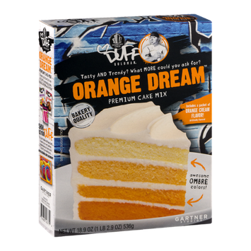 Duff Goldman Orange Dream Premium Cake Mix