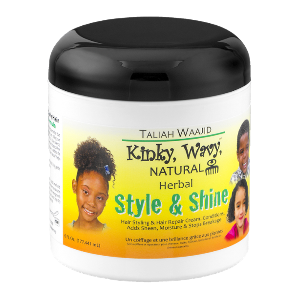 Taliah Waajid Kinky, Wavy, Natural Herbal Style & Shine